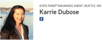Karrie Dubose State Farm Agent Seattle