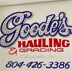 Goode's Hauling and Grading LLC