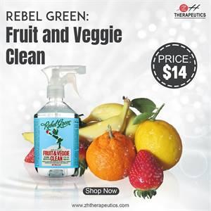 Rebel Green Fruit and Veggie clean